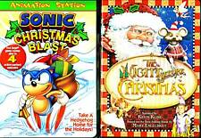 Sonic Christmas Blast (DVD) & The Night Before Christmas  (DVD)