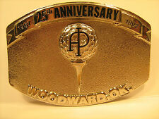 Belt Buckle AP 25TH ANNIVERSARY Woodward, OK 1967-1992 [Y95n]