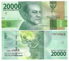 L'Indonesia Indonesia 20000 20.000 rupia 2016 (2017) UNC P NEW