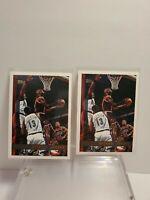 Michael Jordan Chicago Bulls 1997-98 Topps #123 x2 Last Dance Bulls