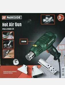 Parkside Hot Air Gun PHLG 2000 E4 2000W 3 years Warranty