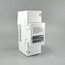 5(65)A 230V 50HZ KWH din-rail energy meter step motor impulse register dispaly