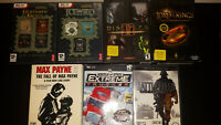 Large Lot of 10 Windows PC Games Complete Incl. LOTR, Icewind Dale, Disciples II