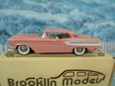 1/43 Brooklin models  BRK22 1958 EDSEL CITATION 2 DOOR HARDTOP  white metal