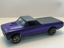 1968 Hot Wheels Custom Fleetside REDLINE - Purple/Black