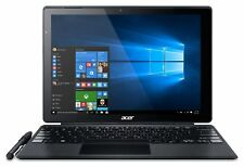 Acer Switch Alpha 12 Inch HD Intel i3 2.3GHz 4GB 128GB Windows Laptop - Black