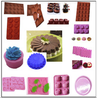 Lot Shape Choose Mini Silicone Mold For Candy Chocolate Cake Mould Baking DIY P