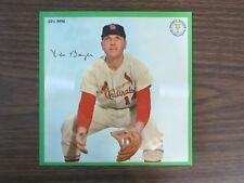 1964 Auravision Record Card Ken Boyer St Louis Cardinals