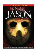 His Name Was Jason: 30 Years of Friday the 13th (2 Disc Splatte... Free Shipping