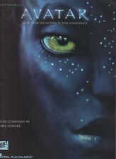 JAMES HORNER AVATAR EASY PIANO SOLO MOVIE SOUNDTRACK MUSIC BOOK
