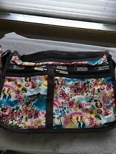 LeSportsac Limited Ed ~ Alohadreams ~ Everyday  Deluxe ~Hawaii  DFS Excl. NWT