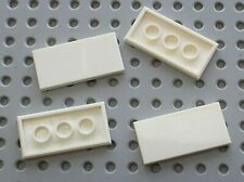 4 x Lego White Tile Ref 87079 / Set 10214 8088 10219 8085 3181 7931 10213 8197..