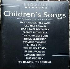 CHILDREN'S SONGS KARAOKE CDGM MULTIPLEX DISC BACKSTAGE CD+G THIS OLD MAN,SHEEP