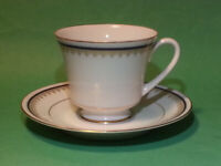 Contemporary by Noritake Coffee Cup with Saucer Bone China GORDON Made in Japan