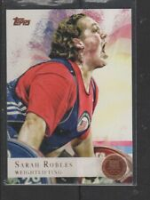 SARAH ROBLES - 2012 OLYMPICS WEIGHTLIFTING - BRONZE MEDAL -  TOPPS #89