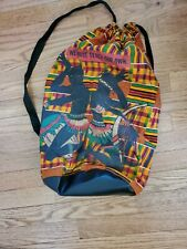 Kente Cloth Sack Bag 20x15 inches African Print