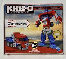 KRE-O TRANSFORMERS OPTIMUS PRIME CONSTRUCTION BASIC SET ACTION FIGURE 90 PIECES