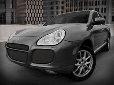 Porsche Cayenne Turbo 4pc Black Mesh Grille Grill 2003 2004 2005 2006 kit