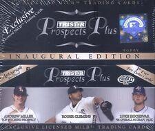 2006 Tristar Prospects Plus Baseball Hobby Box