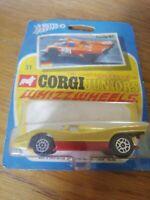 1971 RARE VINTAGE CORGI JUNIORS 51 NEW IN SEALED PACK - Gold & Red Porche 917 (1