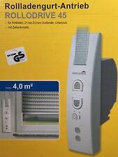 Schellenberg électrique gurtwickler Rollodrive 45; 22745 neuf dans sa boîte NEUF
