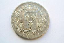 BEAU PORTRAIT 5 FRANCS LOUIS XVIII 1817 A