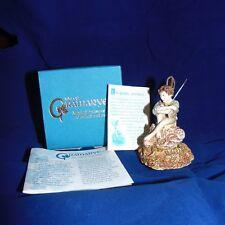 """Isle of Gramarye """"AUTUMN HARVEST"""" Fairy Figurine Trinket Box! MIB! 2001 RETIRED!"""
