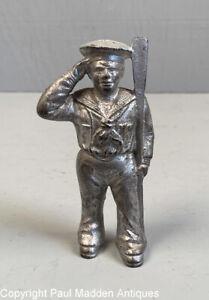 Rare Antique Hubley Cast Iron Sailor Still Bank