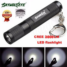 3000LM Zoomable XML Q5 LED Flashlight 3 Modes Torch Super Bright Light Lamp
