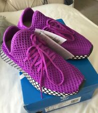 Adidas Deerupt Running Trainers **VERY Rare Bright Purple* Sz 4.5 Rrp £75 BNWB