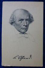 LUDWIG UHLAND - SCRITTORE - TUBINGA - 1787-1862