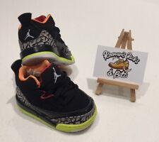 Nike Jordan SON OF LOW Black Infant Toddler UK 3 RARE VINTAGE BABY UNISEX