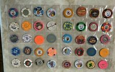 Set of 40 Mixed Casino Chips