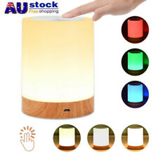 LED Night Light 7 Color Touch Light Table Desk Lamp Mood Bedside Nursing Lamp AU