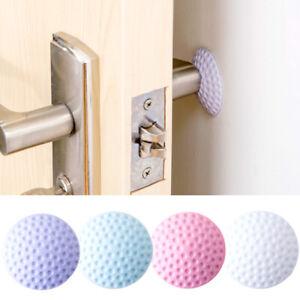 Home Wall Protector Door Stop Bumper Rubber Doors Stopper Wall Sticker Pad Guard