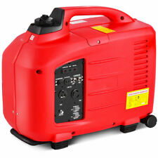 Portable 3500W Digital Inverter Generator 4 Stroke 149cc Single Cylinder Red New
