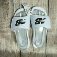 New Balance White Slides ~ Ladies Size AU 8, Eur 38.5 ~ rrp $45 ~ MBC
