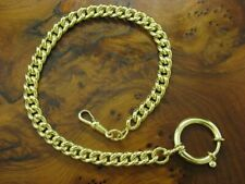 Metal Pocket Watch Chain / Gold Plated/22,2g/26,0cm