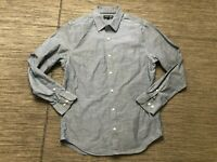 Banana Republic Mens Medium Non Iron Slim Fit Chambray Button Up Shirt