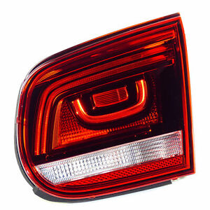 VW Eos 1F 10-15 LED tail light rear light inside right OEM 1Q0945094T cherry red