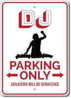 140036 DJ Disc Jockey Disco Music Popular System Display LED Light Sign