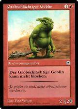"""Magic The Gathering (MtG) Karte """"Grobschlächtiger Goblin"""" deutsch neuwertig"""