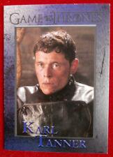 GAME OF THRONES - Season 4 - Card #92 KARL TANNER - Rittenhouse 2015