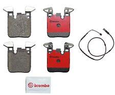 For BMW F22 F23 F30 F32 F33 F34 Set of Rear Disc Brake Pad & Sensors Brembo
