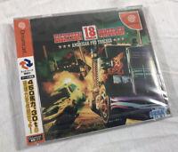 2001 NEW 18 Eighteen Wheeler: American Pro Trucker Sega Dreamcast Japan SEALED