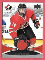 2016-17 William Bitten Upper Deck Team Canada Juniors Jersey - Minnesota Wild