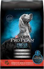 Purina Pro Plan Focus Adult Sensitive Skin Stomach Lamb Oat Meal Formula Adult