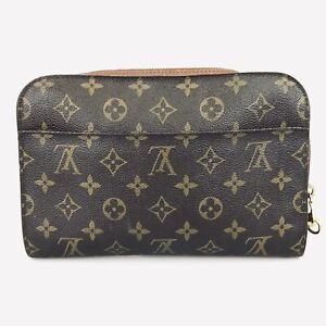 100% Authentic Louis Vuitton Orsay Second Bag M51790 Used 1076-5-e