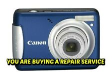 CANON A480 / A490 or A495 CAMERA REPAIR SERVICE-60 DAY WARRANTY-FREE RETURN SHIP