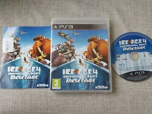 ICE AGE 4 CONTINENTAL DRIFT ARCTIC GAMES PS3 PLAYSTATION 3 PREOWNED